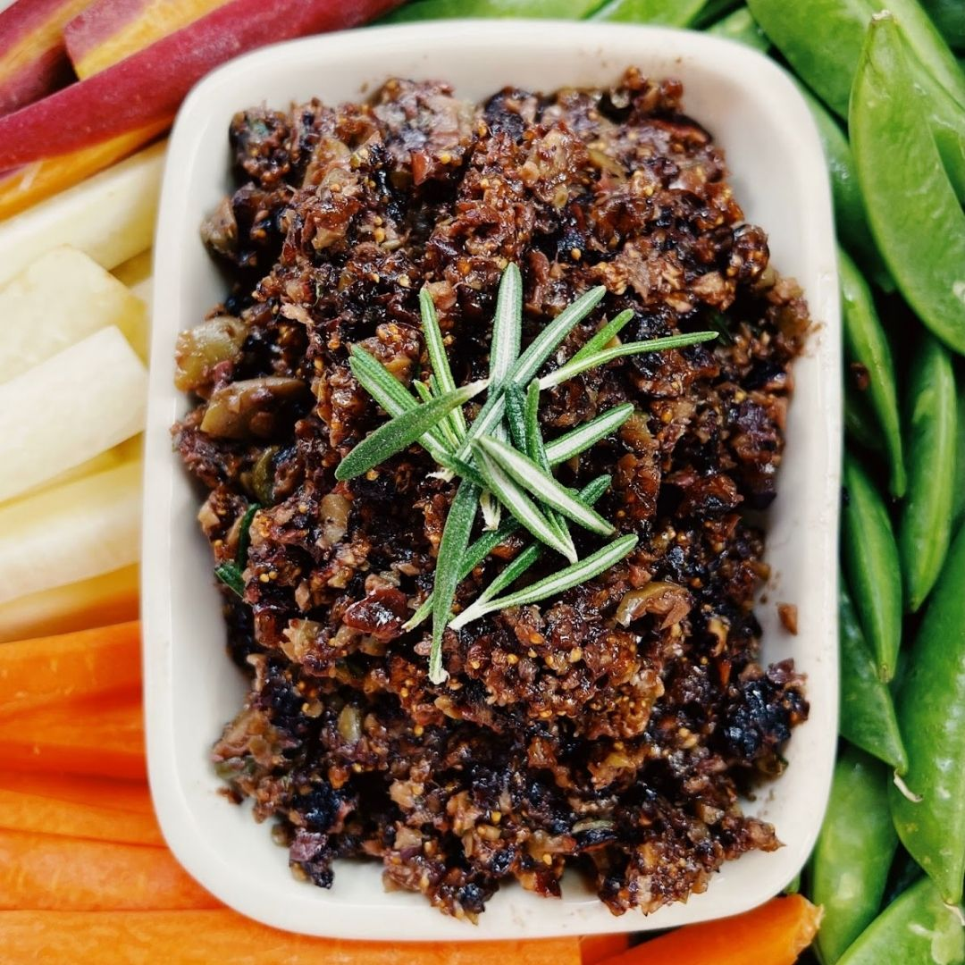 Dried Fig and Olive Tapenade