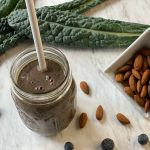 Kale, Blueberry and Almond Butter Smoothie