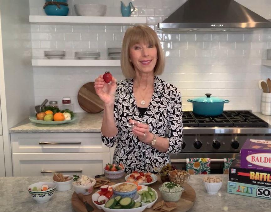 MIND Diet Snack Board NeuroReserve and Liz Weiss